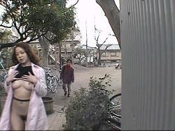 淫乱露出女 2 裏DVDサンプル画像