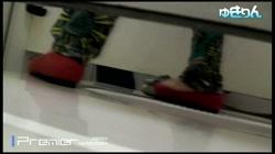 世界の射窓 左と右、同時入ってくれた赤いパンプス。カメラを振り回す No.106 裏DVDサンプル画像