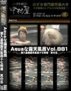 Aquaな露天風呂 Vol.881 潜入盗撮露天風呂十七判湯 其の五