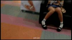 流出!密着トライアングル!素人街角Pチラコレクション Vol.02 裏DVDサンプル画像