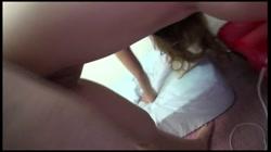 完全顔出し 初潮噴き!グチョマン☆大好評娘みゅうちゃんがなんと!初中出解禁!見所満載の逸品です☆ 裏DVDサンプル画像