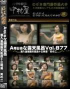 Aquaな露天風呂 Vol.877 潜入盗撮露天風呂十三判湯 其の二