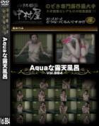 Aquaな露天風呂 Vol.884