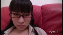 初めての大人の流儀に悶絶するウブなめがねっ娘 楠木遥 裏DVDサンプル画像