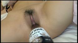 旅の人さんの性書目録 Vol.3 ありさ  ビール瓶ぶち込み大量中出し サンプル画像4