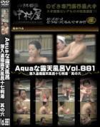 Aquaな露天風呂 Vol.881 潜入盗撮露天風呂十七判湯 其の六