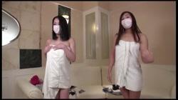 人生初4P!美巨乳女子とGOODスタイル女子に制服を着用させ!恥ずかしと言いながらも その2 裏DVDサンプル画像
