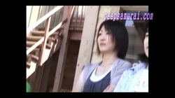 胸チラを狙うド根性カメラ part9 裏DVDサンプル画像