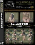 Aquaな露天風呂 Vol.887