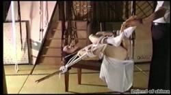 志摩伝説「マニア秘録 人妻奴隷 5」 富永夕子 裏DVDサンプル画像