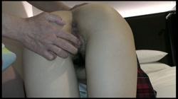 完全初撮り 制服生ハメ セックスはこれが2人目!めっちゃピュアな ひとみ 裏DVDサンプル画像