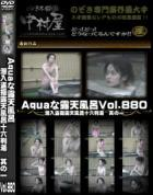 Aquaな露天風呂 Vol.880 潜入盗撮露天風呂十六判湯 其の一