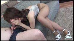 有名企業勤務の美人な人妻にパンスト被せてチンポ2本セックス! 裏DVDサンプル画像