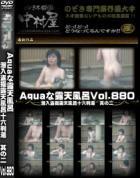 Aquaな露天風呂 Vol.880 潜入盗撮露天風呂十六判湯 其の二