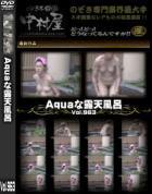Aquaな露天風呂 Vol.963