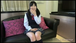 【個人撮影】しずく 黒髪ツインテールの制服美少女に大量中出し 裏DVDサンプル画像