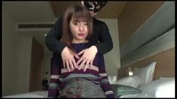 【個人撮影】マシュマロおっぱい早漏娘「ヌルヌル」淫乱下着に愛液滲ませ入室 ゆずき 裏DVDサンプル画像