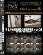 有名大学休憩時間の洗面所事情 Vol.09 田舎風素朴美女の洗面所!