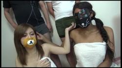 初撮り 黒人&日本人VSデストロン軍団対決 4Pに挑戦 ゆうこ キティ 裏DVDサンプル画像
