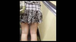 綺麗なモデルさんのスカート捲っちゃおう!! vol08 裏DVDサンプル画像
