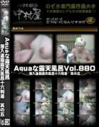 Aquaな露天風呂 Vol.880 潜入盗撮露天風呂十六判湯 其の五