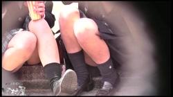 ドキドキ❤新入生パンチラ歓迎会 Vol.01 裏DVDサンプル画像