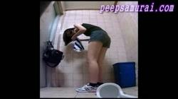 中国女子大生が盗った同級生トイレ 裏DVDサンプル画像