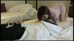 【個人撮影】超絶スレンダー美人妻ちなつさんとエロエロ痴女プレイで生ハメ口内発射! 裏DVDサンプル画像