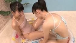 百合乙女 つるつる乙女のイケナイあそび Vol.1 日向ももか 川村芽衣 サンプル画像0
