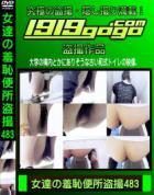 女達の羞恥便所盗撮 Vol.483