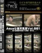 Aquaな露天風呂 Vol.881 潜入盗撮露天風呂十七判湯 其の三
