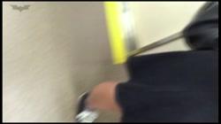盗撮列車 制服好きにはたまりません。紺ハイソックスもそそります・・・ Vol.40 裏DVDサンプル画像