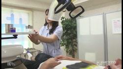 巷で噂の爆乳萌え歯科医院 〜おっぱい麻酔で痴覚過敏〜 小峰ひなた 裏DVDサンプル画像