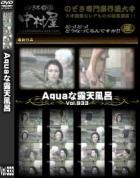 Aquaな露天風呂 Vol.933