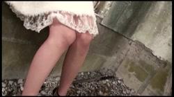 藻無し 口内発射&中出し 素人女子校生野外露出 裏DVDサンプル画像