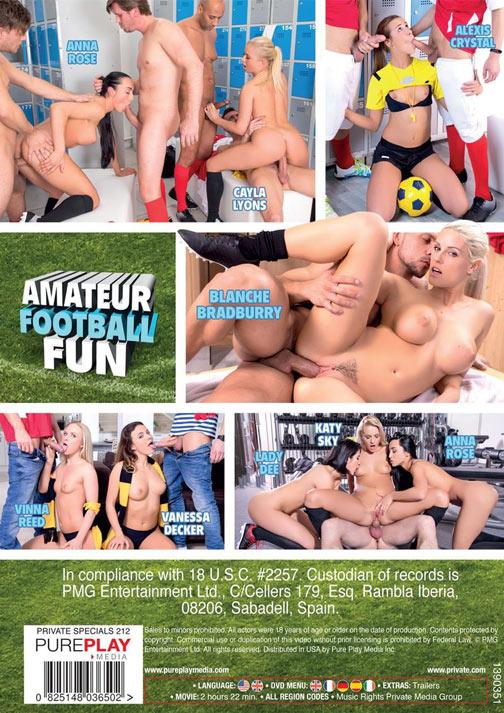 アマチュアー フットボール ファン 裏DVDサンプル画像