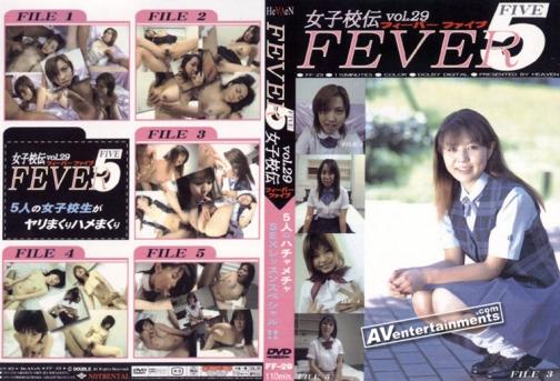 フィーバー ファイブ 美勇伝 Vol.29 裏DVDサンプル画像