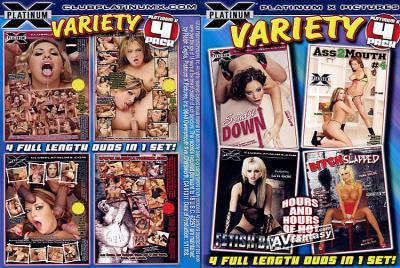 バラエティー 4パック (4 DVDセット)