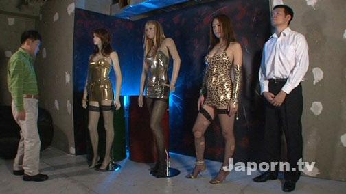 スーパーリアル, リアルドール : セナ, ハルミ, カリン, チリ 裏DVDサンプル画像