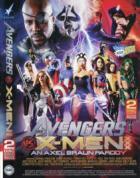 アベンジャーズ Vs X-Men XXX  アン アクセル ブラウン パロディー (2枚組)