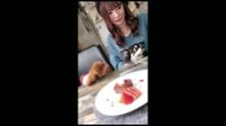 【顔出し・無修正】犬好きFカップの音大生とカフェデートからホテルで連続中出し - 無料アダルト動画付き(サンプル動画) サンプル画像0