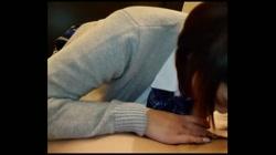 【個撮】看護師目指してる爆乳娘かなちゃん(仮名)とハメ撮り・ご奉仕好きなフェラでガマン汁溢れそのまま生挿入・膣内に精子ぶちまけた - 無料アダルト動画付き(サンプル動画) サンプル画像5