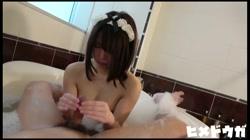 【完全素人74】マリナ20才その8、完全顔出し、メイドコスの究極美少女とラブラブ中出し二連発 後編 - 無料アダルト動画付き(サンプル動画) サンプル画像5