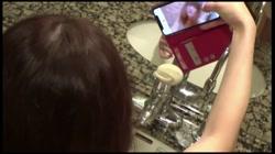 【顔出し・NTR】結婚間近の巨乳社長令嬢、フィアンセへ公開告白『今…他の人とエッチしてる…』洗面台でハメられ喘ぎながら謝罪する度おまんこ濡らす変態ドM - 無料アダルト動画付き(サンプル動画) サンプル画像15