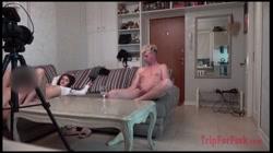 【無】金の力で奥さんに中出し。旦那の目の前で。ガチです。 - 無料アダルト動画付き(サンプル動画) サンプル画像14