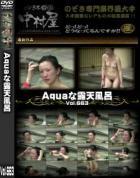 Aquaな露天風呂 Vol.663 - 無料アダルト動画付き(サンプル動画)