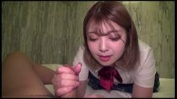 ハーフモデル級の美少女J●リフレ嬢まいちゃんの極秘裏バイト!! まいちゃん(18歳) サンプル画像18