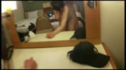 【顔出し・無修正】Gカップのダンサーを留学支援公衆トイレでハメた後ホテルで中出し - 無料アダルト動画付き(サンプル動画) サンプル画像10