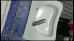【顔出し・無修正】Gカップのダンサーを留学支援公衆トイレでハメた後ホテルで中出し - 無料アダルト動画付き(サンプル動画) サンプル画像2