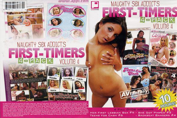 ノーティー セックス アディクツ ファースト タイマー 4 (4 DVDセット)
